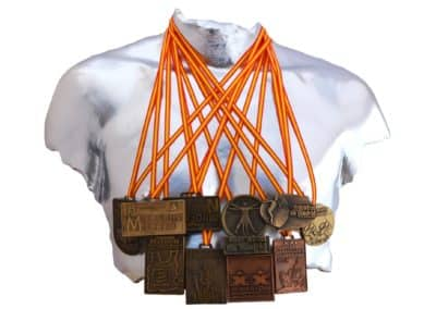 Torso medallero